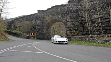 599 miles in a Ferrari 599