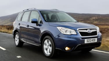 Subaru Forester 2.0D XC front tracking