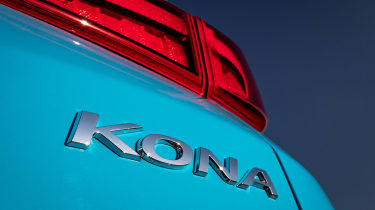 Hyundai Kona electric - badge