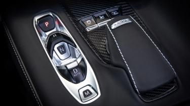 Chevrolet Corvette Convertible - centre console