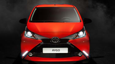 New Toyota Aygo front