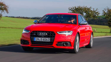 Audi S6 saloon 2014 front