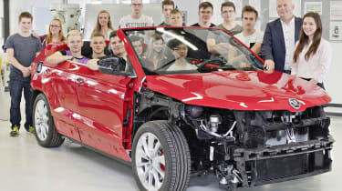 Skoda Sunroq concept - students
