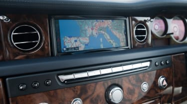 Rolls-Royce Phantom II sat-nav