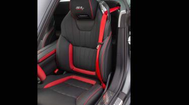 Mercedes SL Mille Miglia 417 - seats