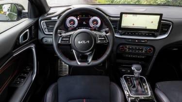 Kia Proceed GT - dash