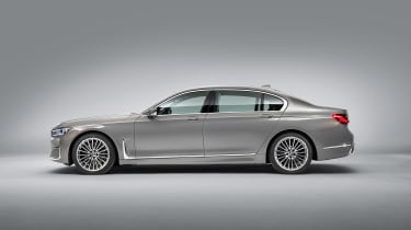 BMW 7 Series facelift - side studio