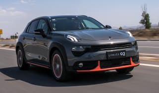 Lynk & Co 02 SUV - front