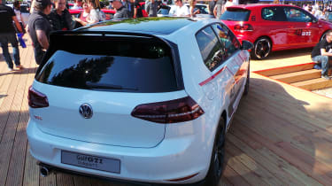 Volkswagen Golf GTI Clubsport S - rear