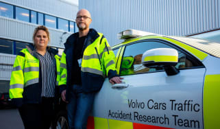 Volvo accident research team