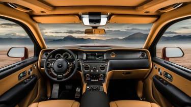 Rolls-Royce Cullinan SUV - interior