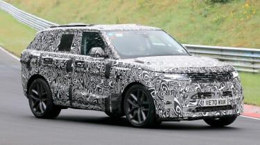Range Rover SVR - spyshot 1