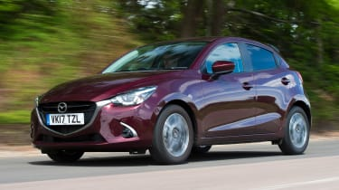 Used Mazda 2 Mk3 - front action