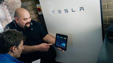 Screen Tesla Powerwall
