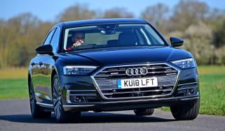 Audi A8 55 TFSI - front