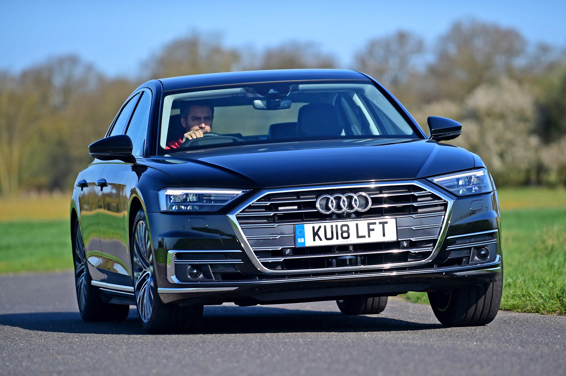 New Audi A8 55 TFSI 2018 review   Auto Express