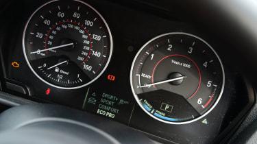BMW 2 Series M Sport - dials