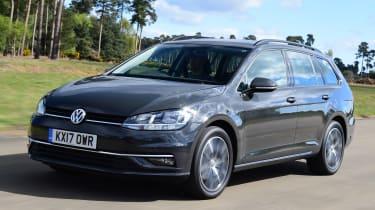 Volkswagen Golf Estate - front