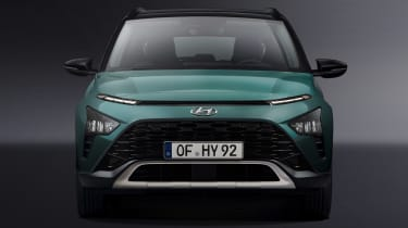 Hyundai Bayon - full front