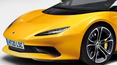 Lotus sports car - front detail (watermarked)