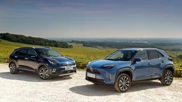 Toyota Yaris Cross vs Kia Niro - static