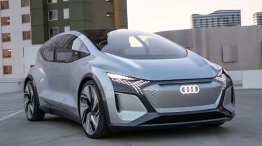 Audi AI:ME concept - front