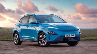 Hyundai Kona electric - front static