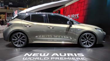 New Toyota Auris side
