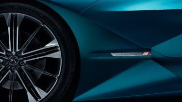 DS X E-Tense concept - wheel