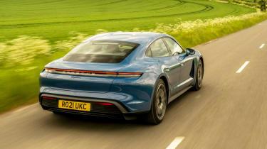 Porsche Taycan RWD - rear tracking