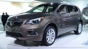 Buick Envision SUV - front quarter show