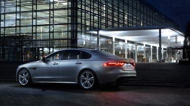Jaguar XF AWD - rear night