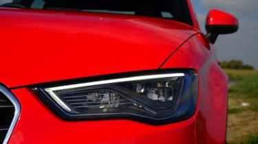 Audi A3 Saloon LED lights