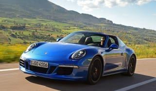 Porsche 911 Targa GTS front