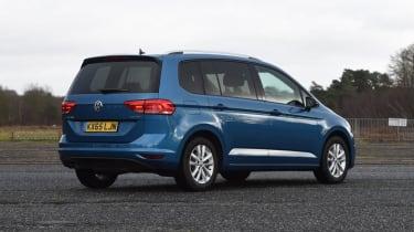 Used Volkswagen Touran - rear