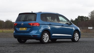 Used Volkswagen Touran - rear