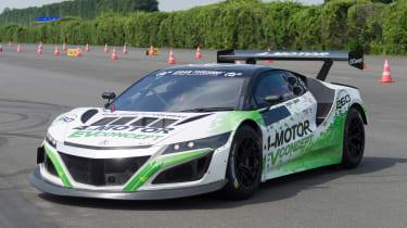 Honda NSX 4-motor EV Concept - front