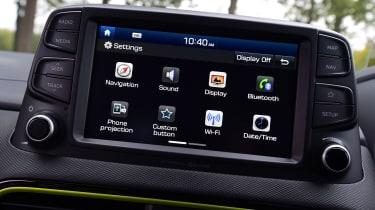 Hyundai Kona Diesel - infotainment