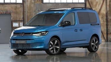 2020 Volkswagen Caddy - front blue