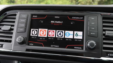 SEAT Ateca FR - DAB radio