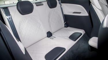 Skoda VisionS concept - rear seats