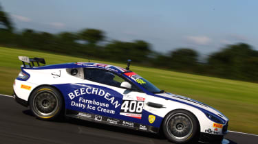 Bake Off S Paul Hollywood Takes To The Track With Aston Martin Auto Express