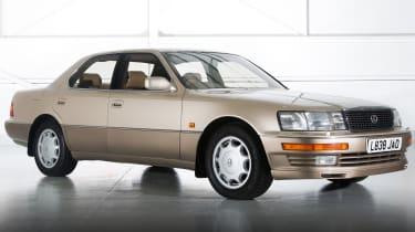 Best cars of the 80s: Lexus LS400