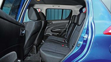Suzuki Swift long-termer - rear seats