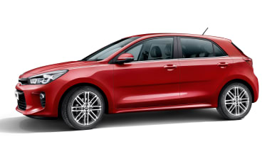 New Kia Rio - side static
