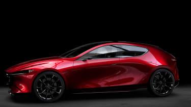 Mazda Kai concept - side