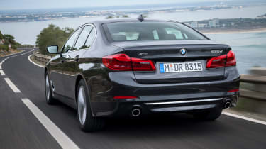 New BMW 5 Series - rear