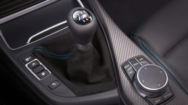 New BMW M2 Competition Pack - gear lever