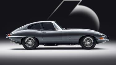 Jaguar E-Type 60 Collection - coupe side