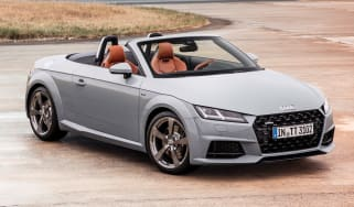audi tt 20 years edition static